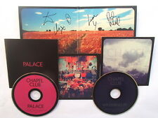 CHAPEL CLUB - PALACE - DOUBLE LTD EDITION CD * SIGNED *