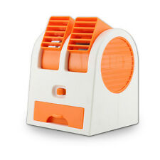 Mini Cooler Bladeless Air Conditioner Cooling USB  Fan Portable Super Orange