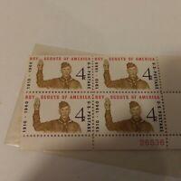 BOY SCOUTS *  Vintage U.S. Postage Stamps 4 cents