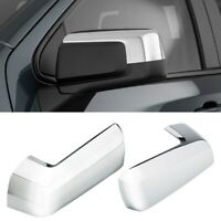 For 2019-2021 Chevy Silverado / GMC Sierra Chrome Replacement Mirror Covers Caps