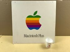 Apple Computer DEALER double-sided DISPLAY -- Macintosh Plus - SUPER RARE FIND