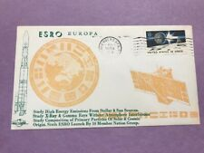 Space Covers not FDC  #1434 ESRO Europe 1972   8c L836