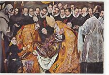CP ART TABLEAU EL GRECO L'enterrement du Comte d'Orgaz