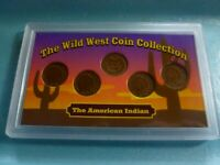 Indian Head Penny  Collection  #IC5 Wild West