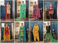 Salwar Patiala Kameez Indian Punjabi Suit Pakistani Wear Designer Shalwar Dress