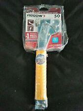 Arrow Hammer Tacker Model #HT-50 Stapler Roofing Insulation New Sealed HT50
