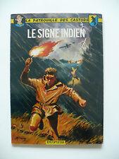 RE (très bel état) - La patrouille des Castors 10 (le signe indien) 1966 Mitacq