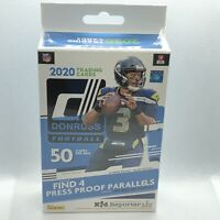 2020 Panini Donruss NFL Football Hanger Box 1 Pack of 50 Cards Rookies MVP