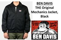 Ben Davis Mens Mechanic's Jacket – Black
