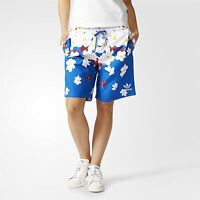 adidas ORIGINALS SIZE XS S BOARD SHORTS SWIM DAISY PRINT PHARRELL WILLIAMS NEW