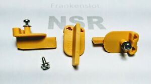 NSR -Frankenslot guide for Carrera 1/32 and 1/24 track slot car pack of 3!!!!!!!