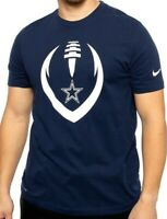 New Dallas Cowboys NFL Football Nike Dri-Fit Modern Icon Shirt Navy Blue Men's