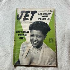 JET Magazine May 15 1952 Delores Martin Broadway Dream Girl