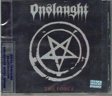 ONSLAUGHT THE FORCE SEALED CD NEW REMASTERED