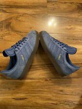 adidas Gazelle Men Suede Trainers Size UK 7. Blue