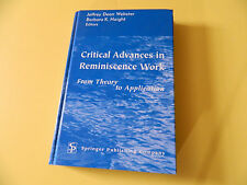 Critical Advances in Reminiscence Work: From Theory to Application - Hardcover