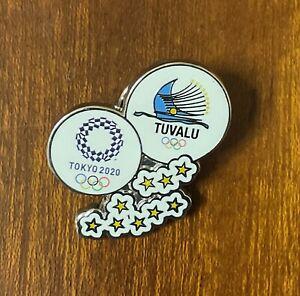 Tokyo 2020 Tuvalu dated NOC pin