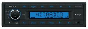 VDO TR723UB-BU 24 Volt MP3-Autoradio mit Bluetooth USB AUX-IN