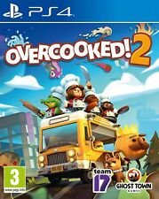 Overcooked 2 Sony PlayStation Ps4 Game 3 Years