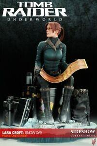 Tomb Raider (Lara Croft) Snow Day Underworld Statue regular Sideshow 75/1000