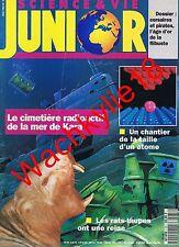 Science et vie junior n°37 du 05/1992 Mer de Kara Rats-taupes Pirates