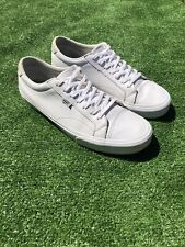 Vans Trainers Sneakers Leather Pumps Size 12 Mens