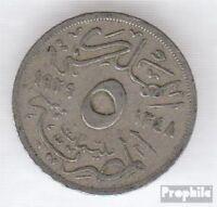 Ägypten KM-Nr. : 346 1933 sehr schön Kupfer-Nickel 1933 5 Milliemes Fuad I.
