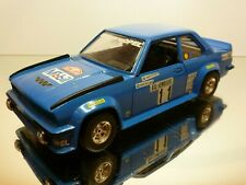 BBURAGO 0153 OPEL ASCONA 400 RALLY - BLUE 1:24  - GOOD CONDITION