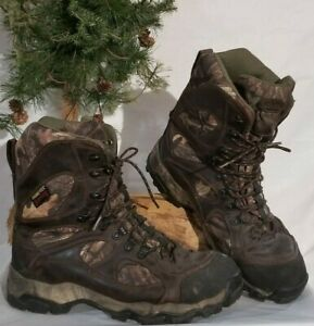 men's size 12 Cabela's cammo gore-tex thinsulate hunting boots