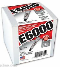 E-6000 Jewellery & Craft Glue Adhesive, 5.32ml / .18Fl.OZ  choose your quantity