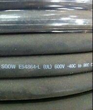 10/4C, SOOW, Portable Cord, Indoor/Outdoor, Copper, 600V, 50' reel, Black