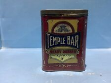 EARLY TEMPLE BAR READY RUBBED UP RIGHT TOBACCO TIN NICE CONDITION