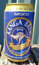 """Kanga Beer """"Good to the Last Hop!!!""""  Special Limited Edition  Can Bottom Opened"""