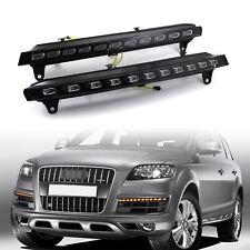 LED Daytime Running Light DRL Driving Fog Lamp & Turn Signal for Audi Q7 06-2009
