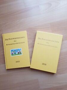 Postwertzeichen der Bundesrepublik Deutschland 2018 Briefmarken Jahrbuch neuw.