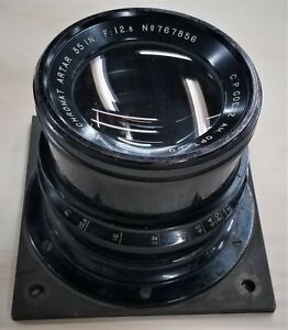 C. P. Goerz AM Optical Company Apochromat Artar 35 Inch f/12.5 Lens