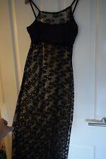 Cotton Candy Black Lace Cami Dress Sexy Nightie Size M