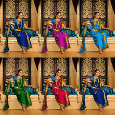 Saree Sari Indian Bridal Bollywood Ethnic Pakistani Designer Wear Traditional AZ