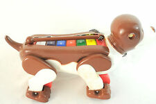 Vintage Xylophone Dog Pull Toy 16""