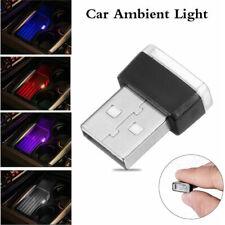 Mini USB LED Night Light Car Interior Neon Atmosphere Ambient Lamp Decoration