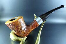 FreeHand-pipa pipe savinelli's Autograph 2 Sterling 9mm Handmade italia 1980'