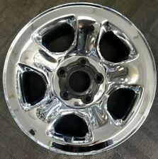"17"" DODGE RAM 1500 FACTORY OEM CHROME SKIN STEEL WHEEL 17x8 2002-2012"