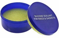 Silicone Sealant Box Grease Pad for O-Rings and Gaskets Watch Repair Waterproof