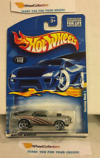 Mustang Mach 1 #112 * Silver w PR5 Rims * 2001 Hot Wheels * A15