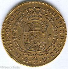 Carlos III 8 Escudos 1772 Madrid P.J. @@ Muy Bella @@ doblon @@