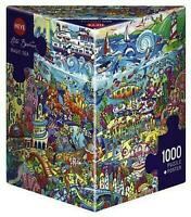 Heye Puzzles - 1000 piece Triangular  Jigsaw Puzzle- Magic Sea, Berman HY29839