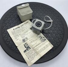 Canon Flash Cubo convertidor Para cámara 35mm-con Estuche-Excelente Estado