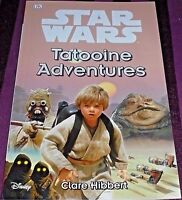 STAR WARS - TATOOINE ADVENTURES -32 PAGE BOOK- (BRAND NEW)