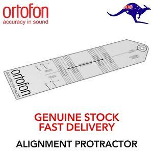 Cartridge Stylus Alignment Protractor Record Player Turntable Genuine Ortofon