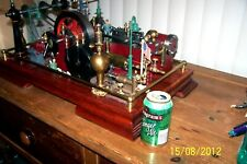 Live Steam Engine / Museum Quality Made In The USA, Look This is one cool engine